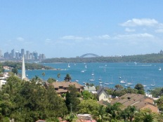 Watsons Bay looking back to the city