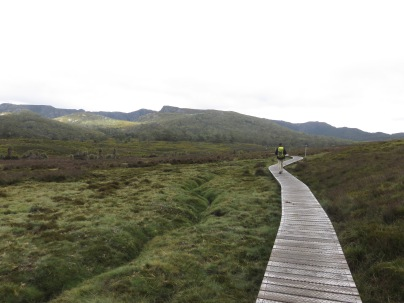 The start of the Overland Track