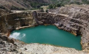 Iron Blow -earliest mine of Mt Lyell