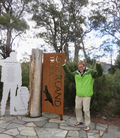 Other end of the Overland Track