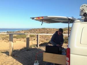 Breakfast at Anzacs Beach Phillip Island