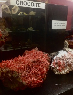 Crocoite - Mineral Emblem of Tasmania