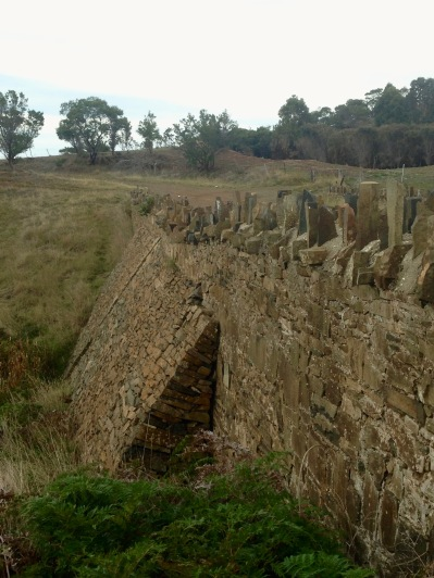 Spiky bridge constructed by convicts