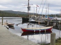 At the Wooden Boat Centre