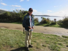 Heading off on the South Cape Bay walk