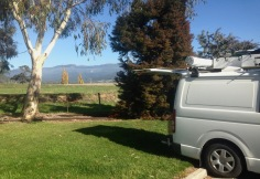 Lunch at Mole Creek