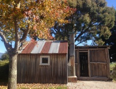 Liena Hut - An old trappers hut that has been relocated to Mole Creek