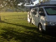 Camp at Chudleigh showground