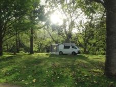 Camp at Knorrit Flat