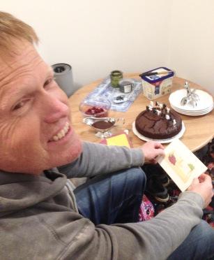 Late birthday celebration for Brendyn