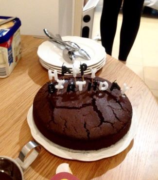 Ashleigh made the most delicious chocolate chilli cake