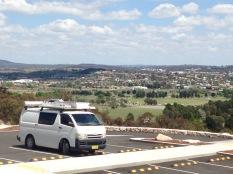 View over Goulburn