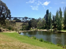 Lunch by the river at Yass