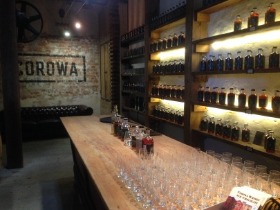 At the Corowra Whisky and Chocolate Factory